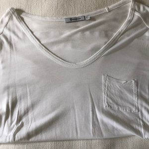 Alexander Wang White Pocket T-Shirt